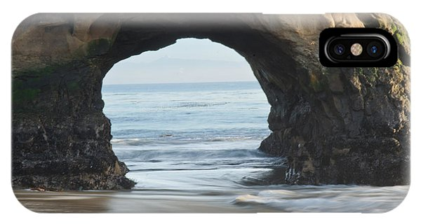Monolith Natural Bridges State Beach  IPhone Case