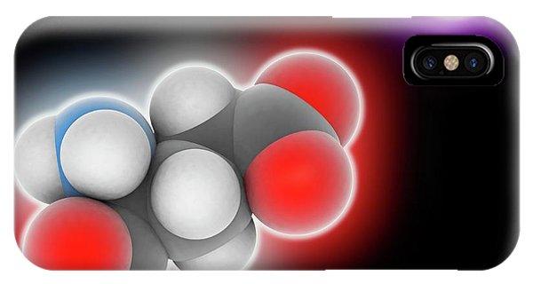 Monosodium Glutamate Molecule Phone Case by Laguna Design
