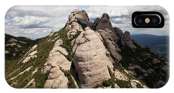 Montserrat Mountain In Spain IPhone Case