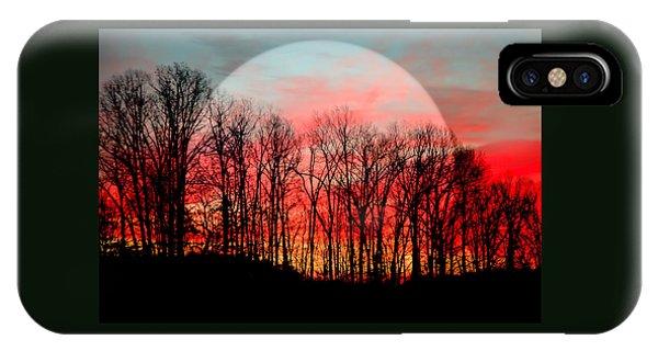 Moon Dance IPhone Case