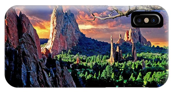 Morning Light At The Garden Of The Gods IPhone Case