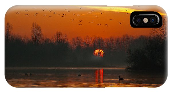 Morning Over River IPhone Case
