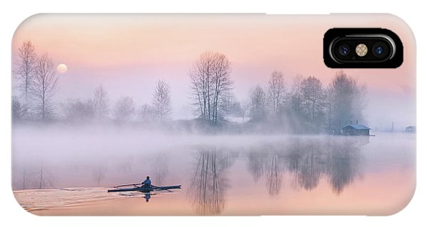 Morning Solitude IPhone Case