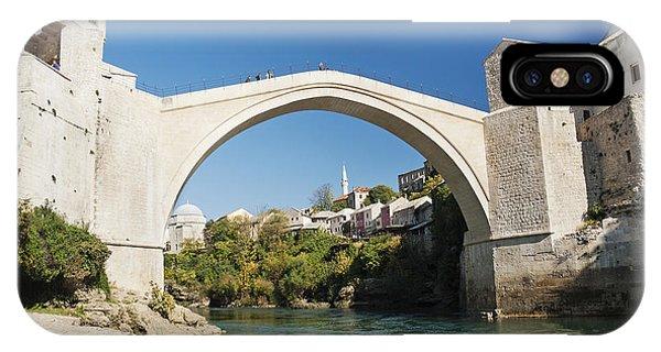 Mostar iPhone Case - Mostar Bridge In Bosnia by Jacek Malipan