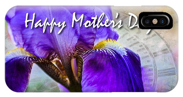 Mothers Day Iris IPhone Case