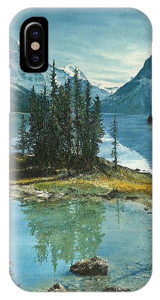 Mountain Island Sanctuary IPhone Case