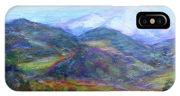 Mountain Patchwork IPhone Case