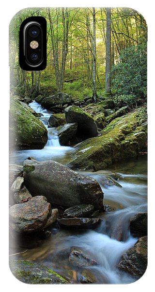 Mountain Stream Phone Case by Heavens View Photography
