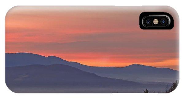 Mountain Sunrise 1 IPhone Case