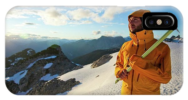 It Professional iPhone Case - Mountaineering by Christopher Kimmel