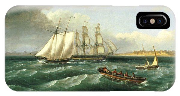 Mouth Of The Delaware IPhone Case