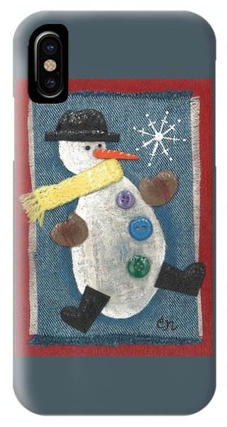 Mr. Snowjangles IPhone Case