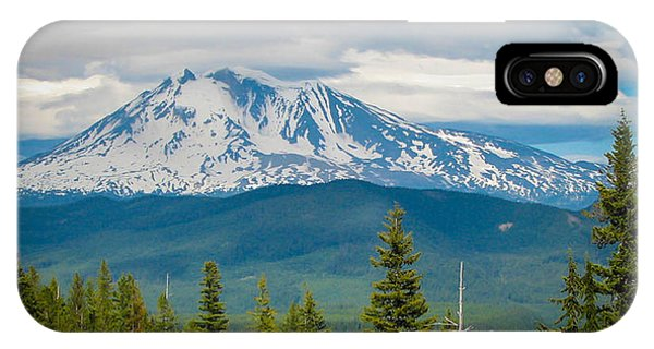 Mt. Adams From Indian Heaven Wilderness IPhone Case