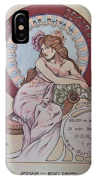 Mucha Poster IPhone Case