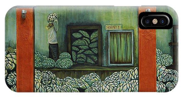 Mural On A Wall, Cancun, Yucatan, Mexico IPhone Case