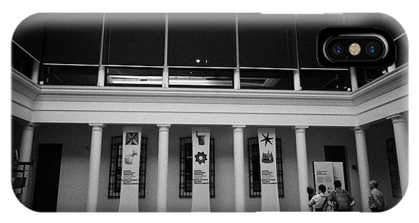 museo chileno de art precolombino pre columbian art museum Santiago Chile Phone Case by Joe Fox