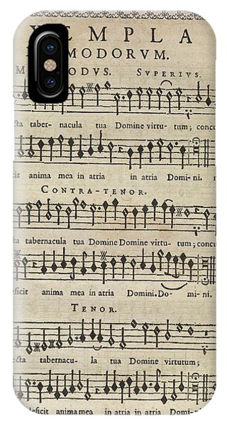 Anima iPhone Case - Music Theory by Middle Temple Library