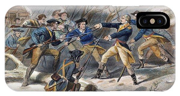 Mutiny: Anthony Wayne 1781 IPhone Case