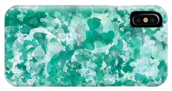 My Love Teal Phone Case by Holley Jacobs