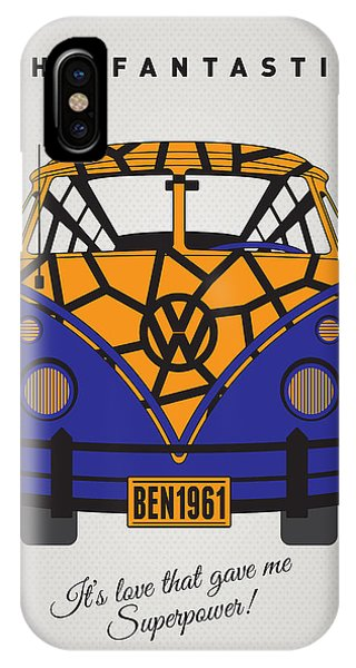 Fantastic iPhone Case - My Superhero-vw-t1-the Thing by Chungkong Art
