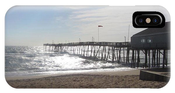 Nags Head Pier 2 IPhone Case