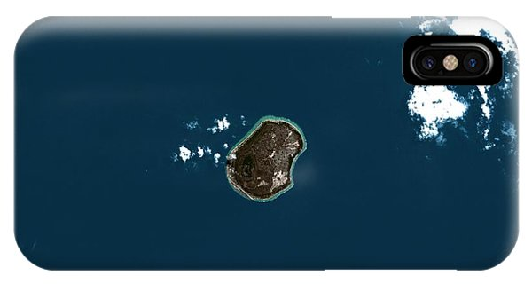 Micronesia iPhone Case - Nauru by Planetobserver/science Photo Library