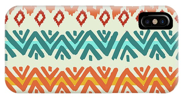 Southwest iPhone Case - Navajo Mission Round by Nicholas Biscardi