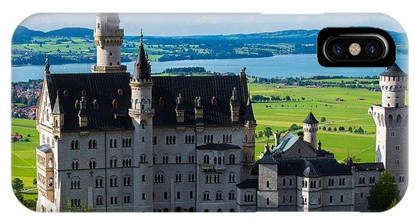 Neuschwanstein Castle - Bavaria - Germany IPhone Case