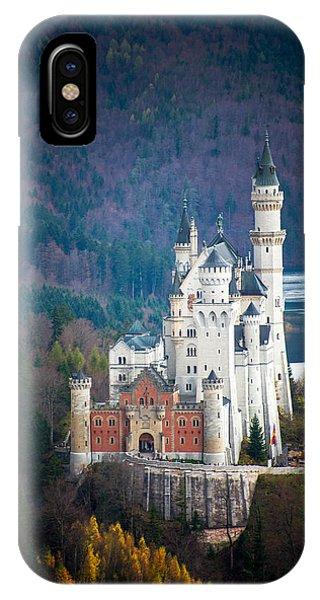 IPhone Case featuring the photograph Neuschwanstein Castle by Ryan Wyckoff