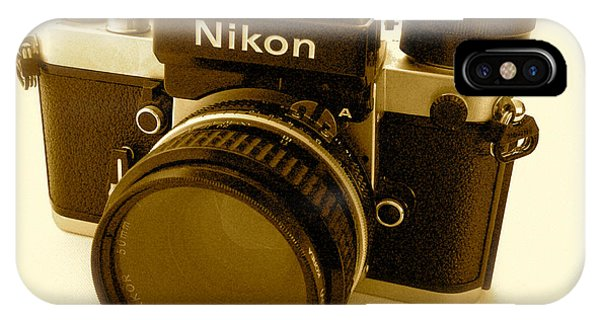 Nikon F2 Classic Camera IPhone Case