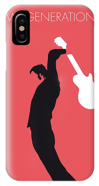 The iPhone Case - No002 My The Who Minimal Music Poster by Chungkong Art