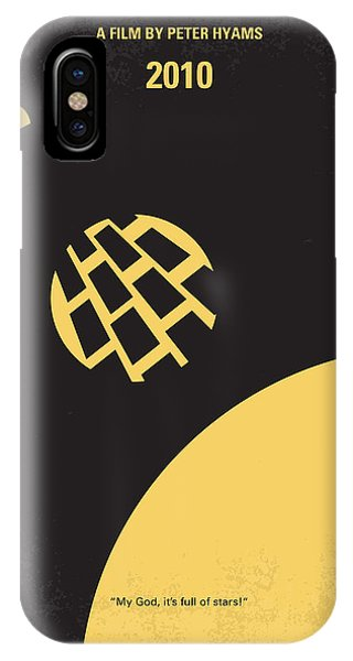 Design iPhone Case - No365 My 2010 Minimal Movie Poster by Chungkong Art