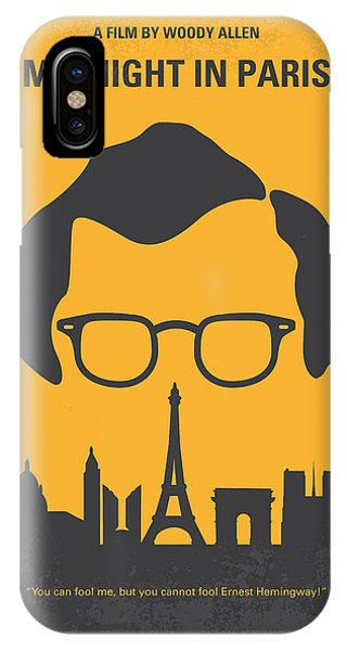 In iPhone Case - No312 My Manhattan Minimal Movie Poster by Chungkong Art