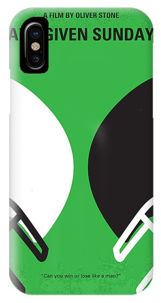 No420 My Any Given Sunday Minimal Movie Poster IPhone Case