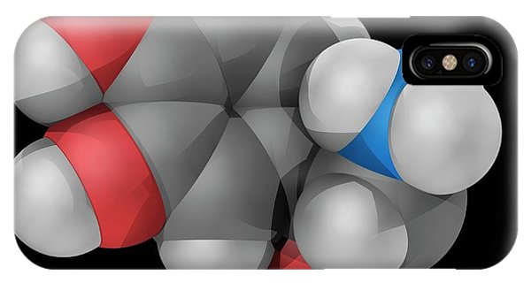 Norepinephrine Molecule Phone Case by Laguna Design/science Photo Library