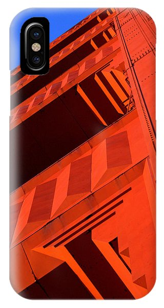 North Tower Golden Gate Bridge IPhone Case