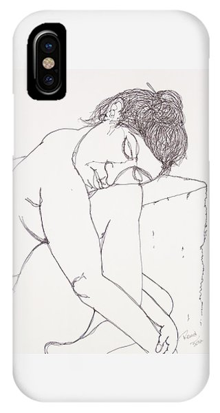 Nude At Rest IPhone Case