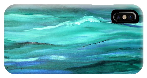 Ocean Swell By V.kelly IPhone Case