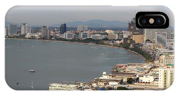 City Scape iPhone Case - Ocean View by Michael Kim