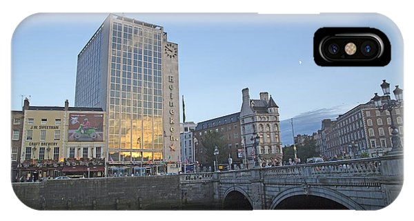 O'connell Bridge Dublin Ireland IPhone Case