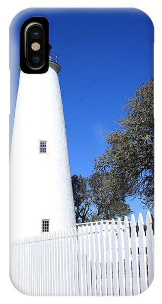 Ocracoke Lighthouse North Carolina IPhone Case