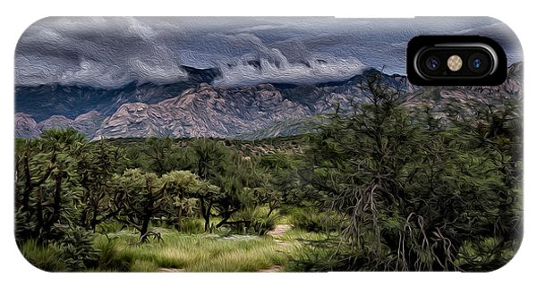 IPhone Case featuring the photograph Odyssey Into Clouds Oil by Mark Myhaver