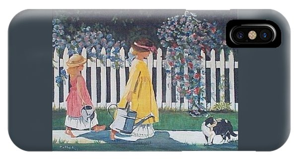 Off To The Garden IPhone Case