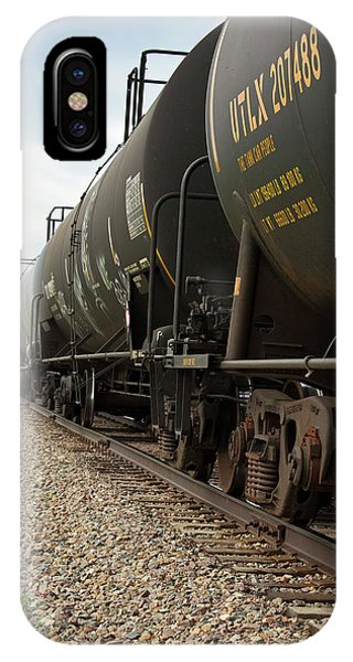 Flammable iPhone Case - Oil Tanker Train by Jim West