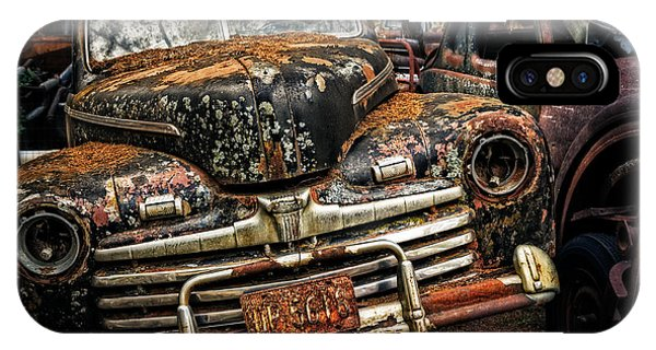 Old Rusty Ford IPhone Case