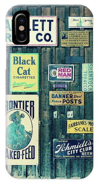Culture Club iPhone Case - Old Advertising Signs Posted by Panoramic Images