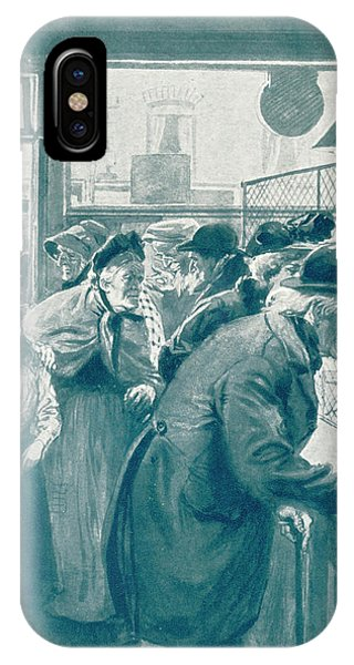 Old Age Pensions Are  Introduced Phone Case by Mary Evans Picture Library