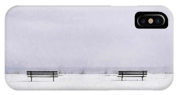 Lake Michigan iPhone Case - Old Friends by Scott Norris