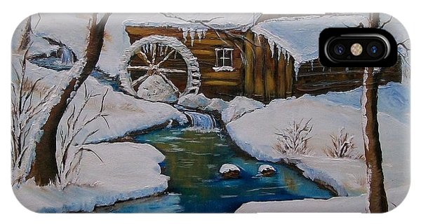 Old Grist Mill  IPhone Case