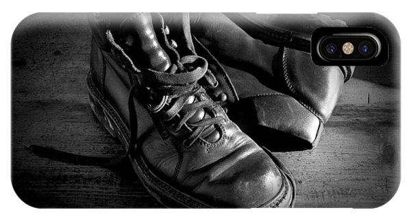 Old Leather Shoes IPhone Case